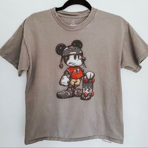 Mickey Mouse Skateboarding Disney T-Shirt